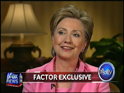 HRC O'Reilly Factor