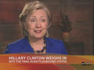 HRC MSNBC Today interview Scranton