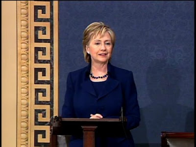 HRC Senate farewell speech D.C.