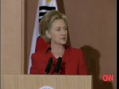 HRC Secretary of State news conference Seoul CNN