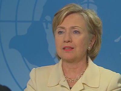 HRC Secretary of State interview The Hague NBC Afghanistan conference