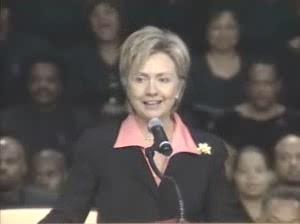 HRC speech Rosa Parks funeral Detroit MI