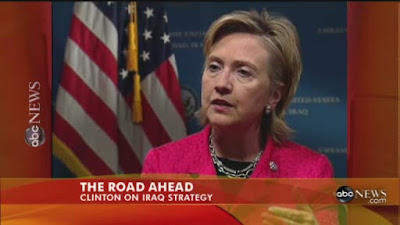 HRC Secretary of State interview Baghdad Iraq ABC