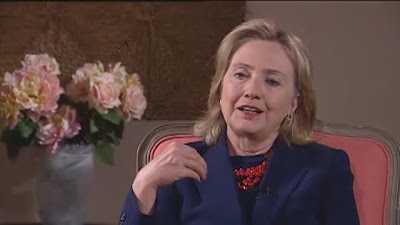 HRC Secretary of State interview Christchurch ONE News TV New Zealand NZ