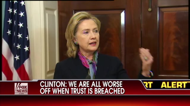 HRC Secretary of State remarks news conference WikiLeaks Fox State Department DC