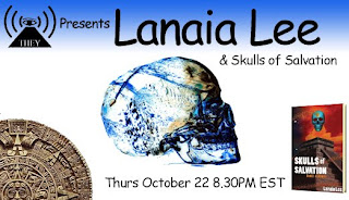 lee+lanaia They Radio Returns Live October 22nd, 8:30 p.m. EDT with Skulls of Salvation author Lanaia Lee