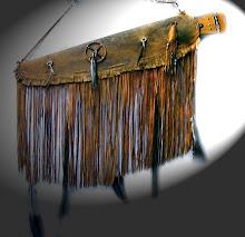 Capas artesanais em couro Native American
