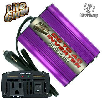 Power inverter ac 150w laptop