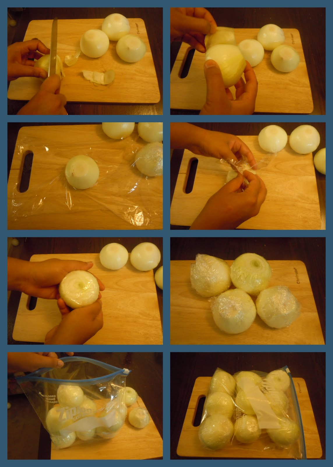 How to Store a Cut Onion