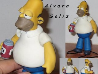 Homero y su duff