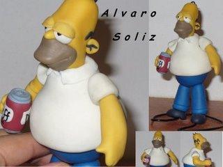 Homero y su duff