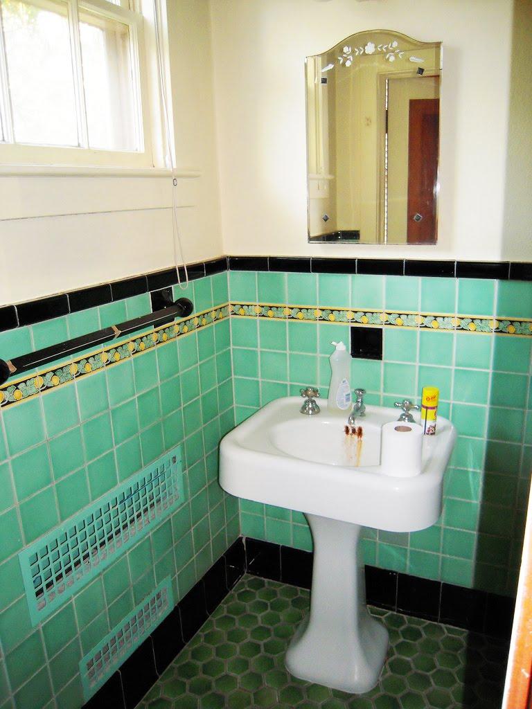 Mod Vintage Life Vintage Tile Bathrooms