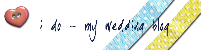 I do - my wedding blog