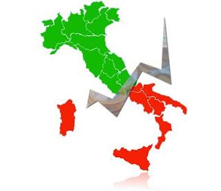 italia spaccata nord-sud