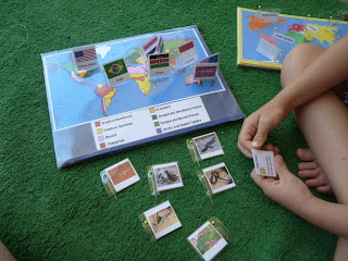 Geography Activity for Kids - Pin Map