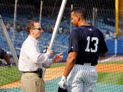 NY Yankees GM Brian Cashman