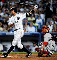 A-Rod Ties Mickey Mantle for HRs