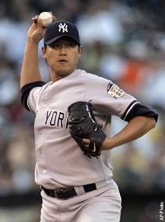 Chien-Ming Wang, New York Yankees