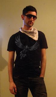 nevermore, raven, american apparel tshirt