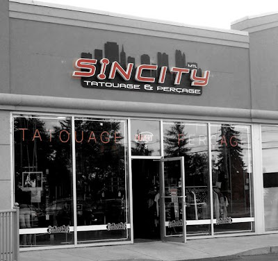Sin City Tattoo Shop