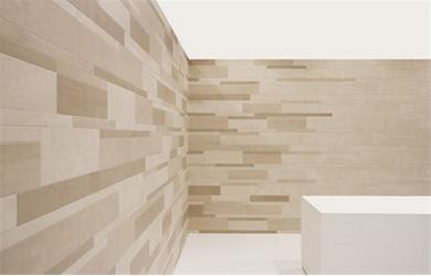 Vision on living badkamer kent ook optisch bedrog