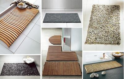 Design Badkamer Matten : Vision on living bijzondere badkamer matten