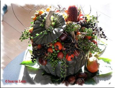 Vision on living wonen met herfstkleuren for Herfst decoratie