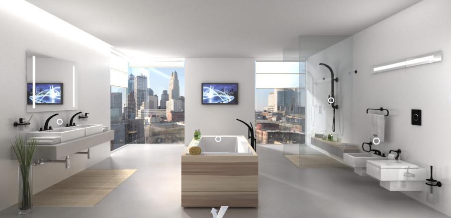 Interieur huis sensueel minimalisme in de badkamer for Interieur huis