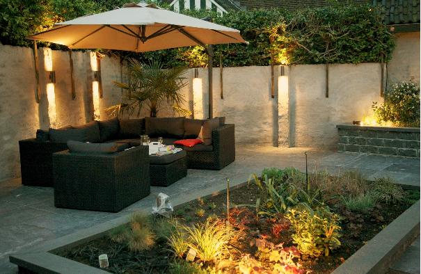 Vision on living verlichtingsplan voor exterieur - Luces para jardines exteriores ...