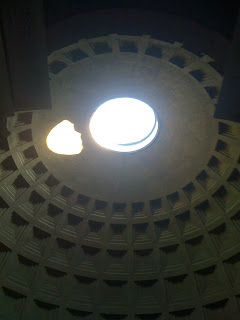 Inside the Roman Pantheon – Rome, Italy