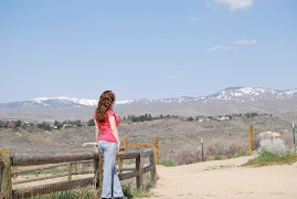 Me in Idaho looking at the mountains