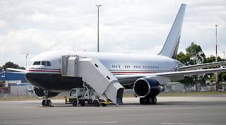 google的波音767飞机