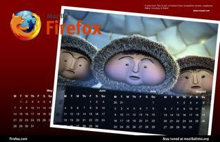 firefox 火狐 日历 桌面 下载