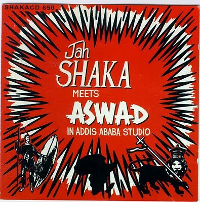 Jah Shaka Meets Aswad In Addis Ababa Studio -1984