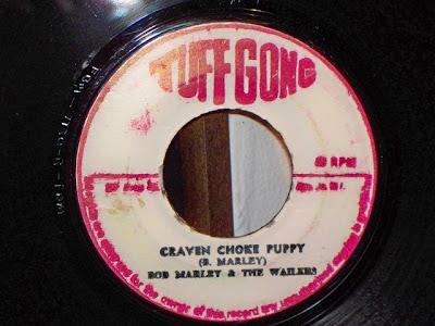 Bob Marley & The Wailers - Craven Choke Puppy 7