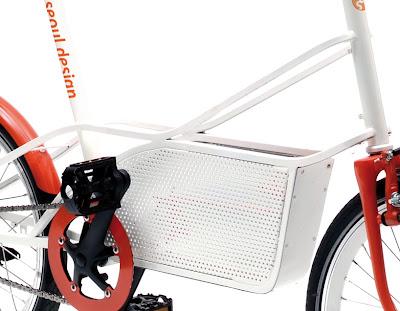 Велосипед-корзина Bagbike03