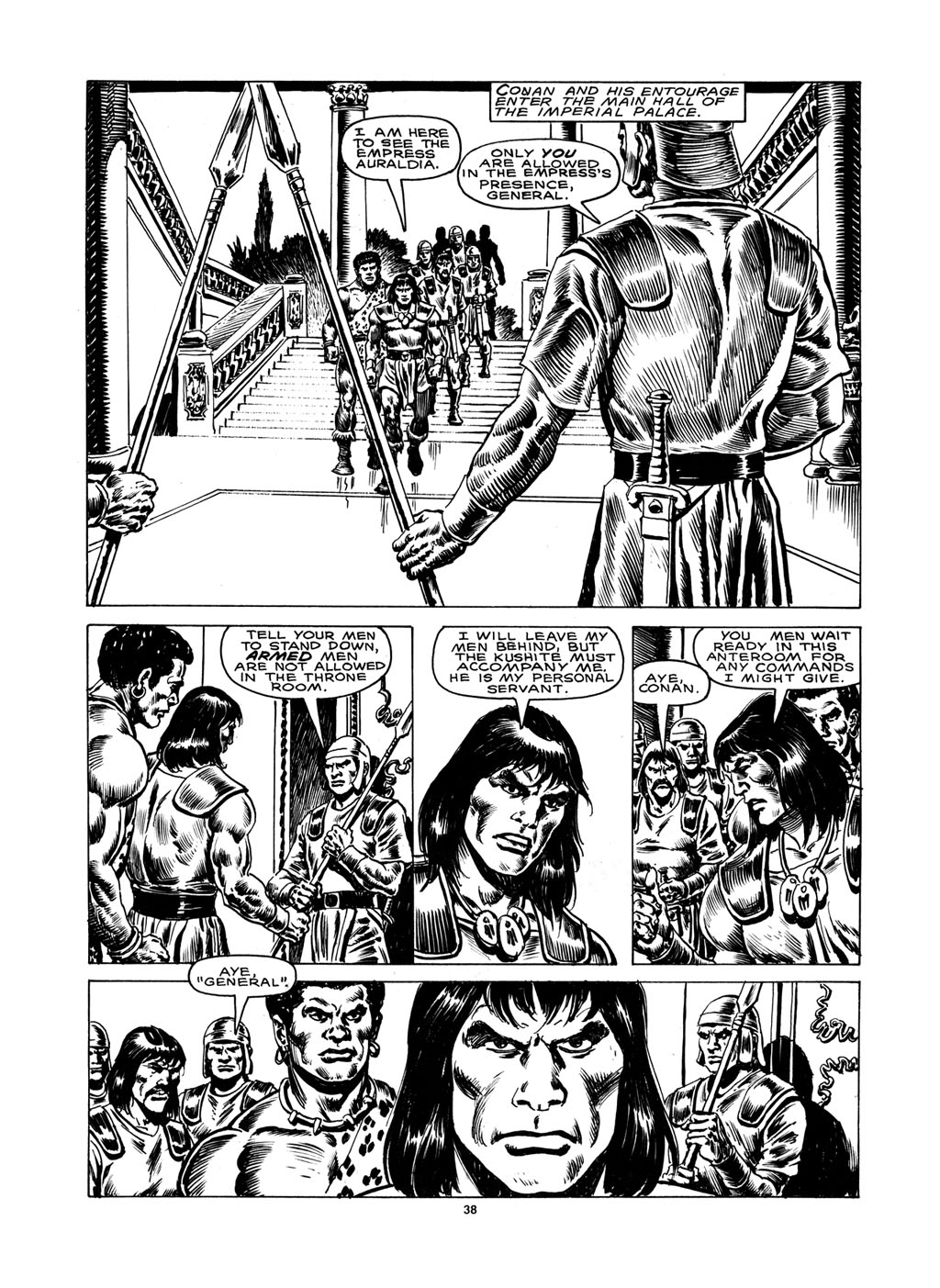 The Savage Sword Of Conan Issue #148 #149 - English 36