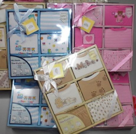 Born Gift  on Branded Baby Clothes   1senses  Ready Stock  Baby Mini Bettle Gift Set