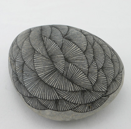 drawdrawdraw: Drawings on Stone: Yoran Morvant Drawing Of A Stone