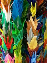 1,000 cranes of peace