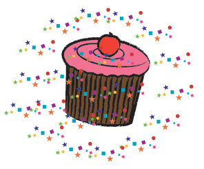 image of sprinkles cupcake
