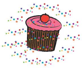 image of sprinkles cupcake