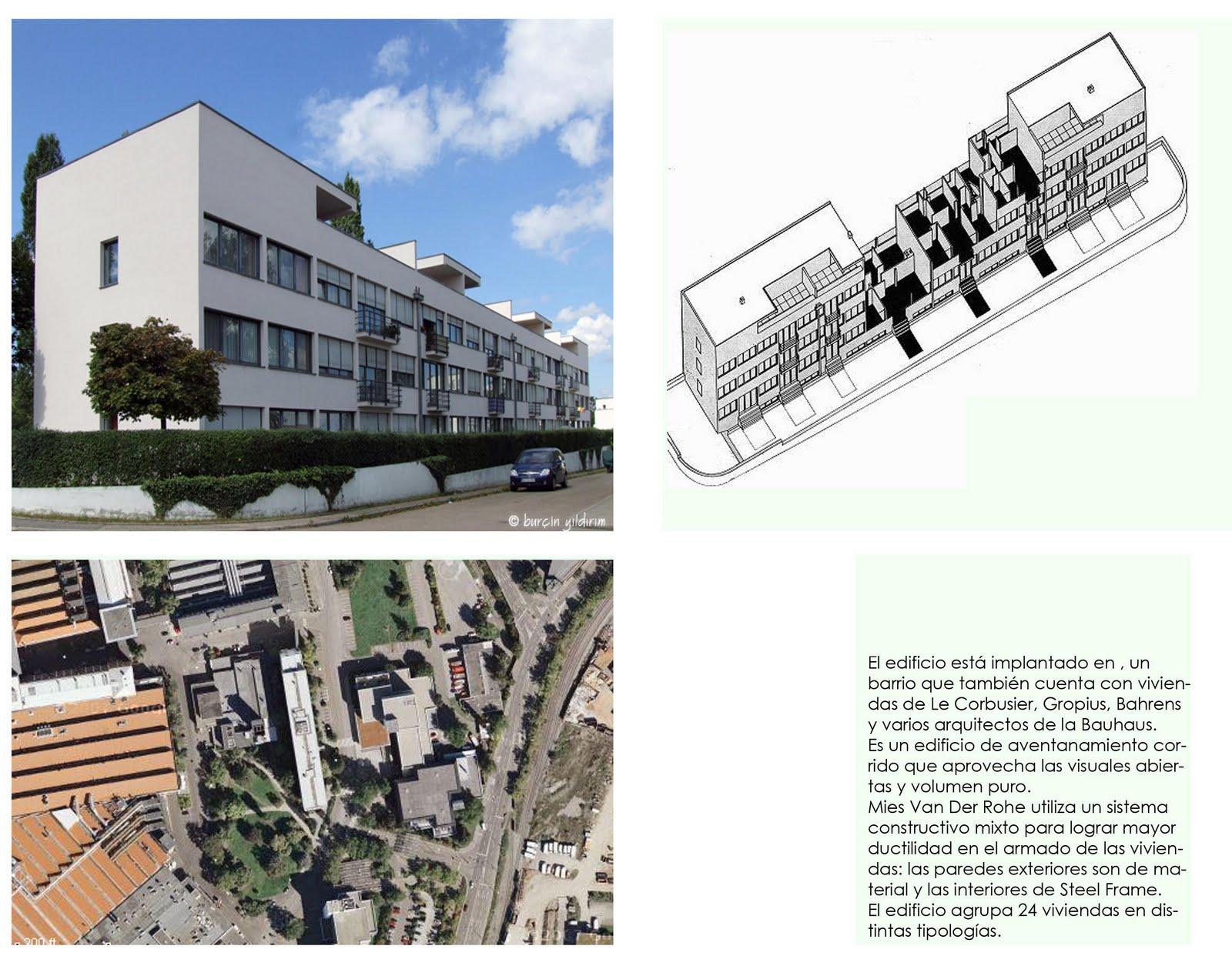Taller de arquitectura mies van der rohe edificio en Noticias de arquitectura recientes