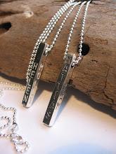 Fyrkantig stav Sterling silver
