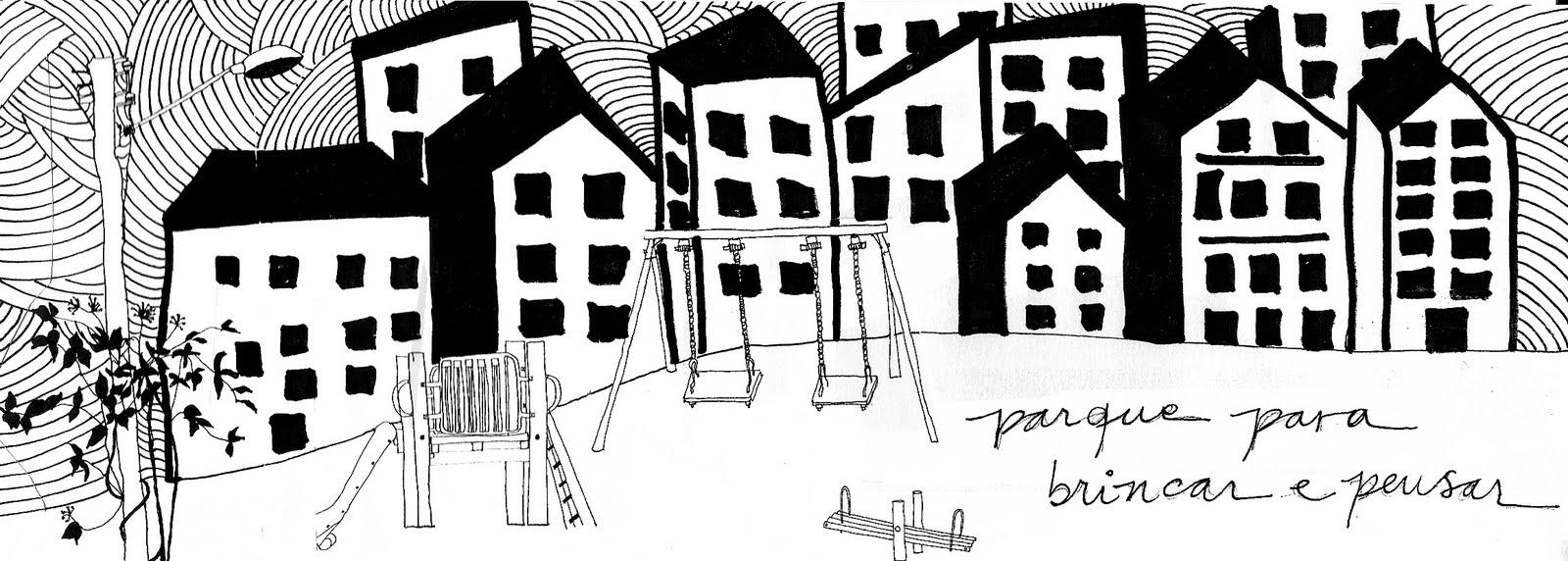 parque para brincar e pensar