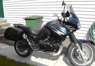Gambar modifikasi Honda Tiger Revo 250 cc 2009