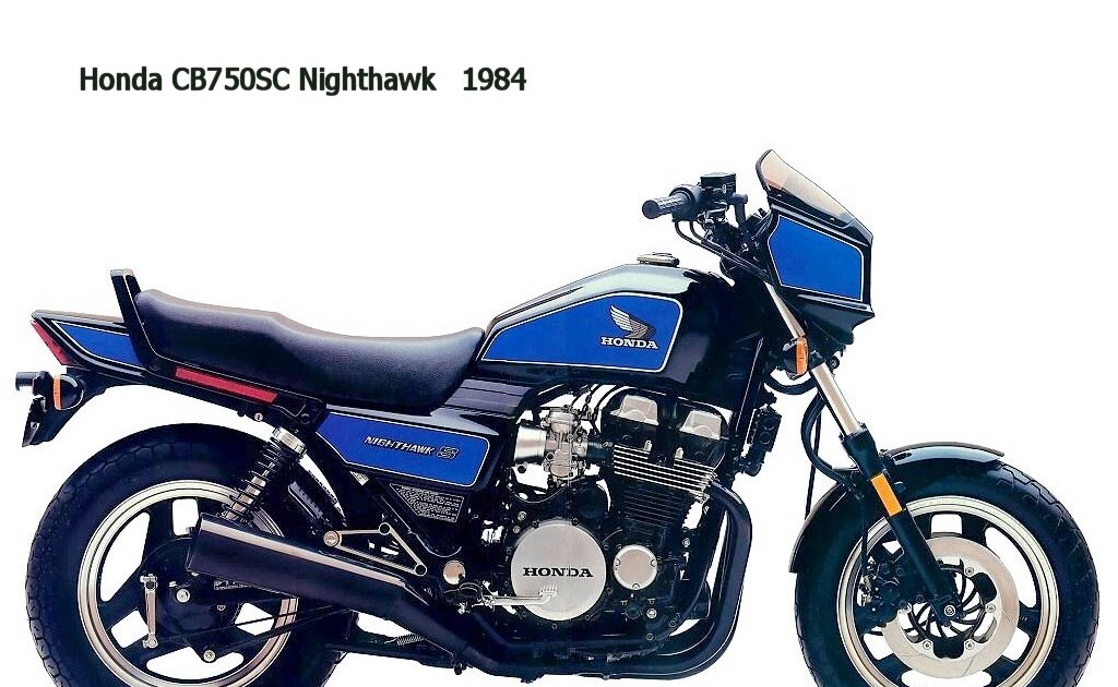 Honda Cb750sc Nighthawk 1984 Modification In The New Biker