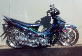 Gambar Modifikasi Yamaha jupiter z 2009