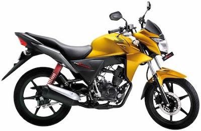 New Honda CB 100 Twister pictures