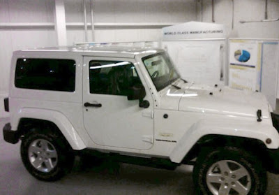 2011 Jeep Wrangler spy shots Report